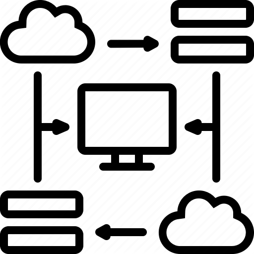 Httpd, Monitor, Server, Website Icon