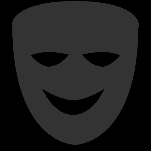 Comedy Mask, The Application, Comedi Icon Free Of Windows Icon