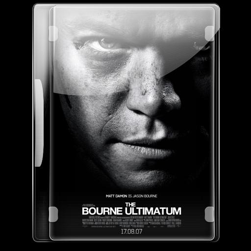 The Bourne Ultimatum Icon English Movies Iconset Danzakuduro
