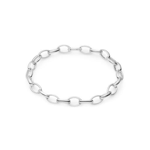 Gucci Blind For Love Silver Oval Link Charm Bracelet Hugh Rice