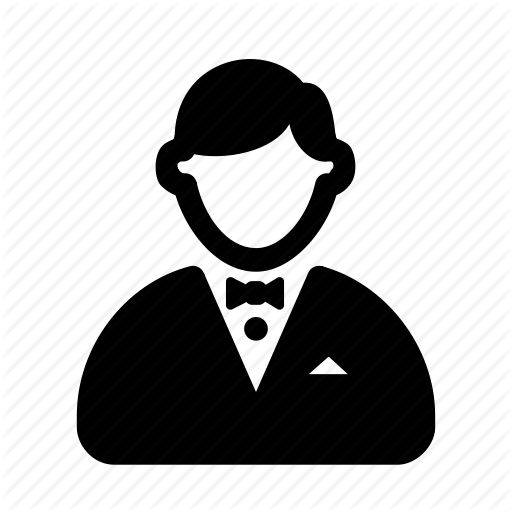 Client, Gentle, Guest, Man, Tuxedo, Visitor Icon