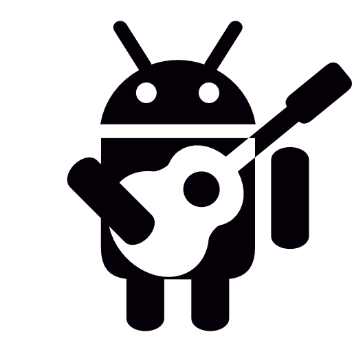 Android, With, Guitar Icon Free Of Android Collection Filled Icons