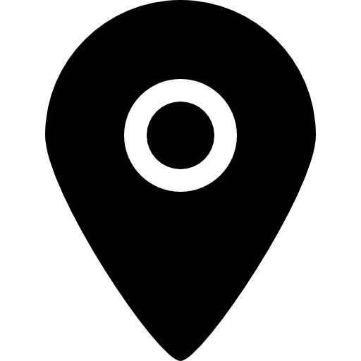 Black Placeholder For Maps Icons Free Download