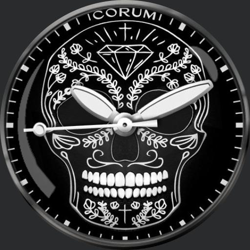 Corum Heritage Bubble Skull For G Watch R