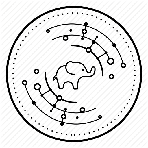Bigdata, Hadoop, Storage Icon