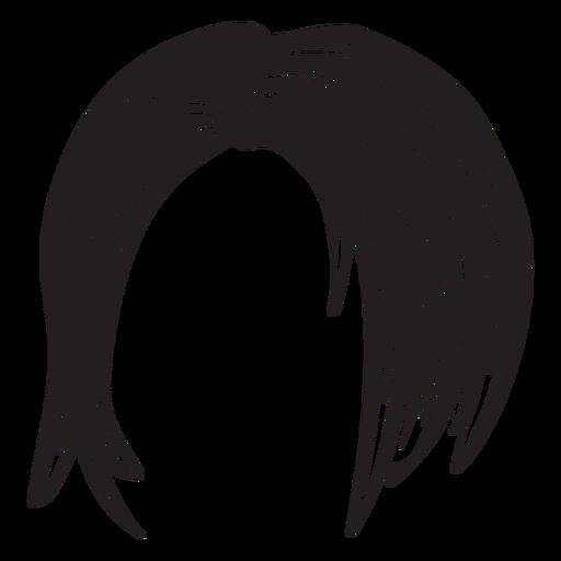 Short Woman Hair Icon