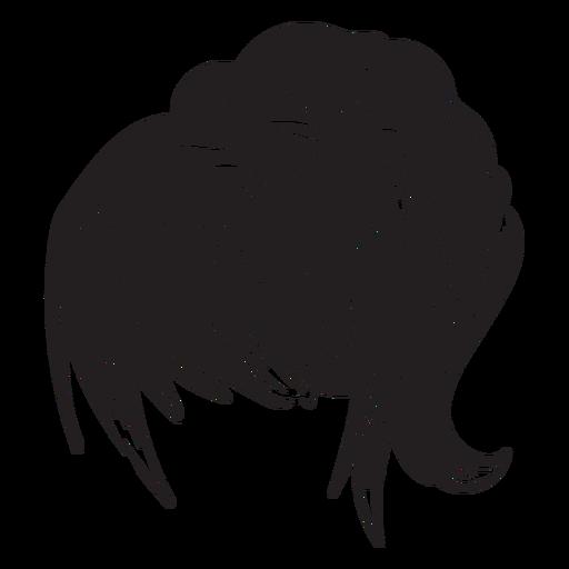Woman Ponytail Hair Icon