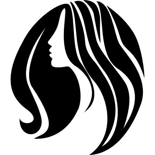Woman With Long Hair Icons Free Download
