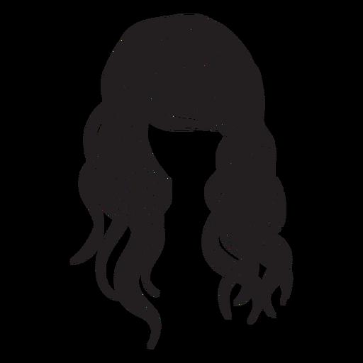 Beach Waves Hair Icon