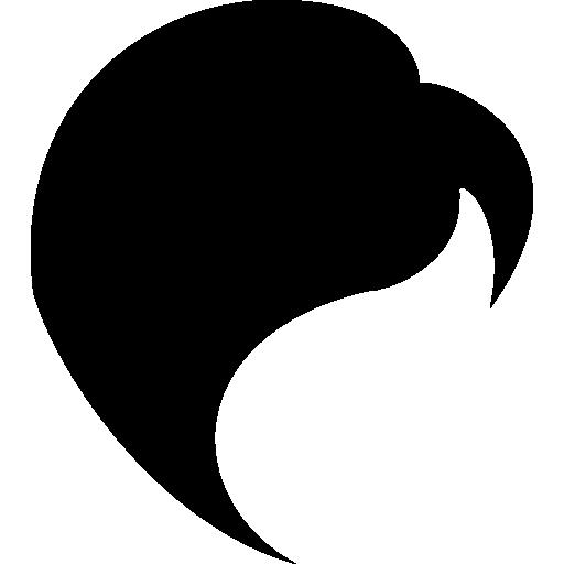 Black Hair Icons Free Download