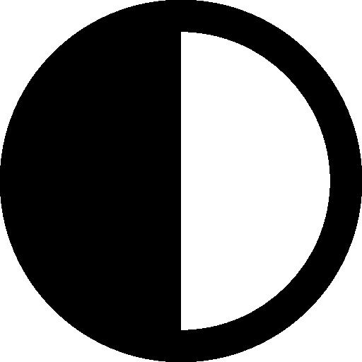 Half Circle Icons Free Download