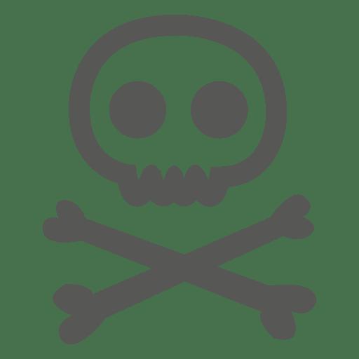 Halloween Danger Caution Icon
