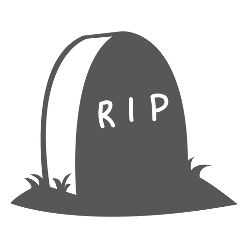 Halloween Tombstone Sketch Icon