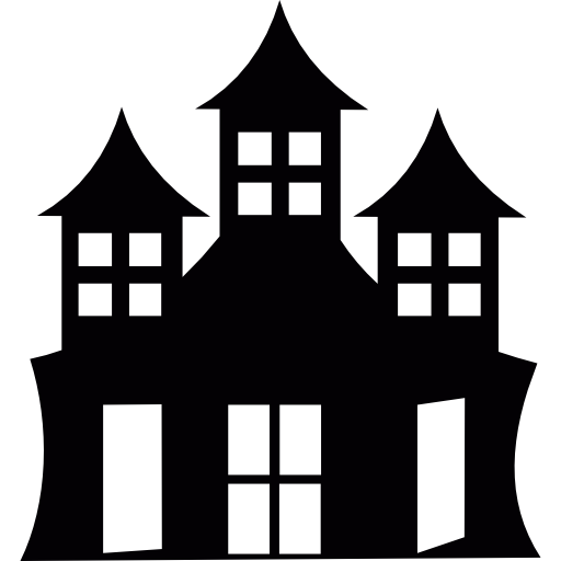 Halloween Haunted Mansion Icons Free Download