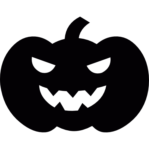 Scary Halloween Pumpkin Head Icons Free Download