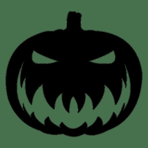 Creepy Pumpkin Face