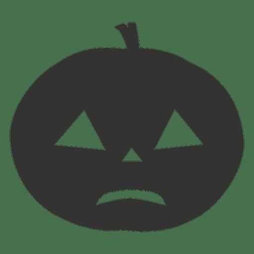Crying Halloween Pumpkin