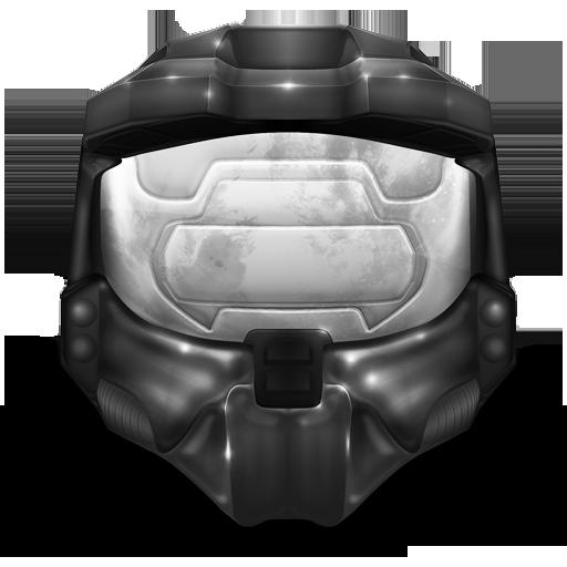 Master Chief Helmet Gray Icon