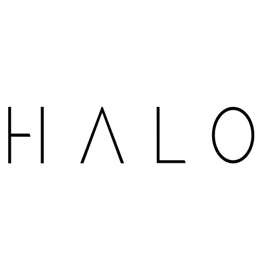 Dj Halo Girl Artist Music Logo Halo Dj, Producer, Vocalist