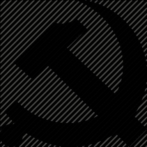Comunism, Hammer, Marxism, Sickle, Socialism, Socialist, Soviet Icon
