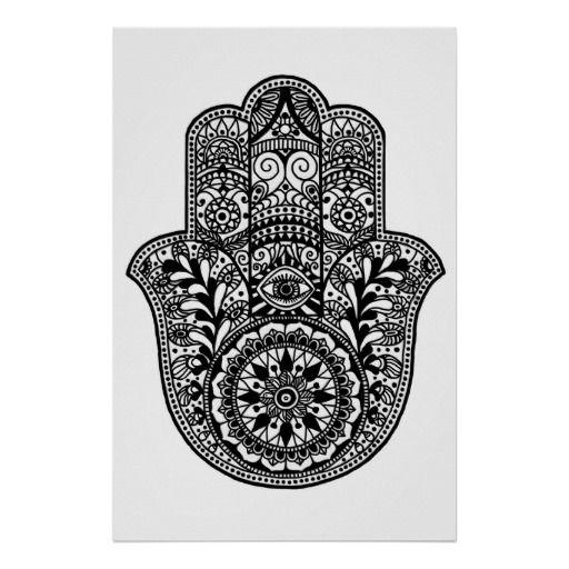 Hamsa Hand Print Tattoos Tattoos, Hamsa Hand And Hamsa