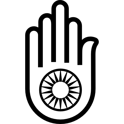 Hamsa Hand Hinduist Icons Free Download