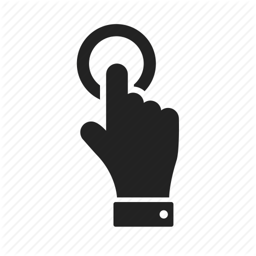 Click, Finger, Hand Icon