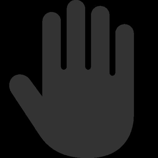Hand, Cursor Icon