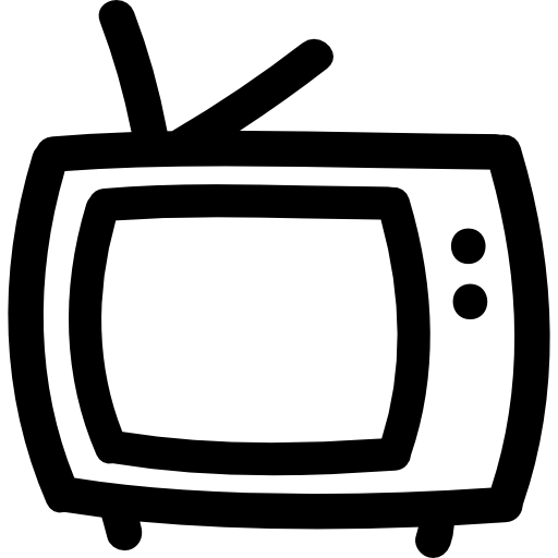 Tv Hand Drawn Outline Icons Free Download