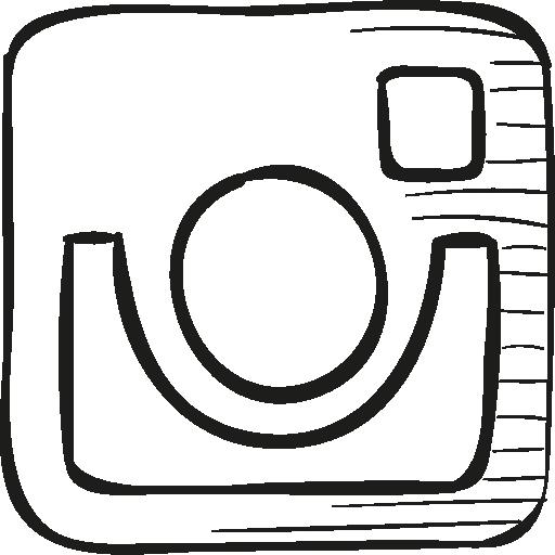 Instagram Drawn Logo Png Images