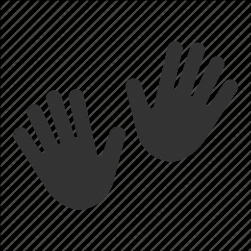 Gesture, Hand Print, Hands, Open Hands, Palms Icon