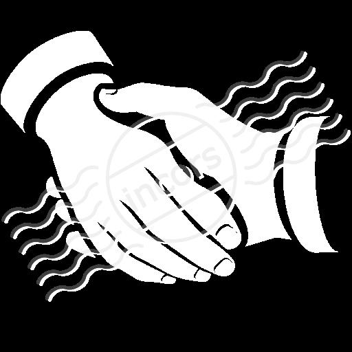 Iconexperience M Collection Handshake Icon