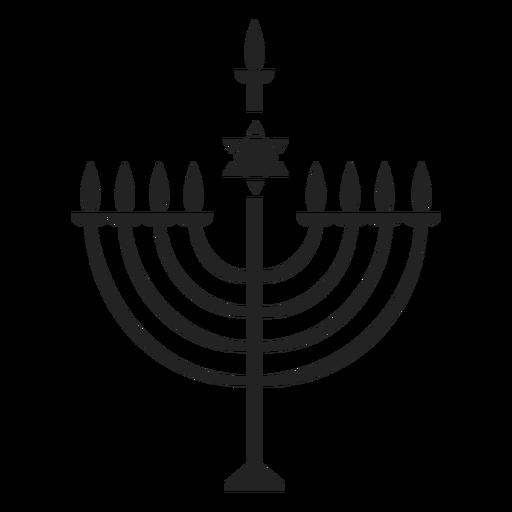 Menorah Hanukkah Icon