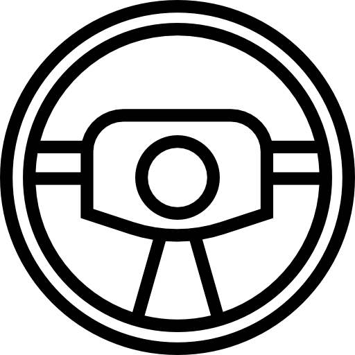 Steering Wheel Outline Icons Free Download