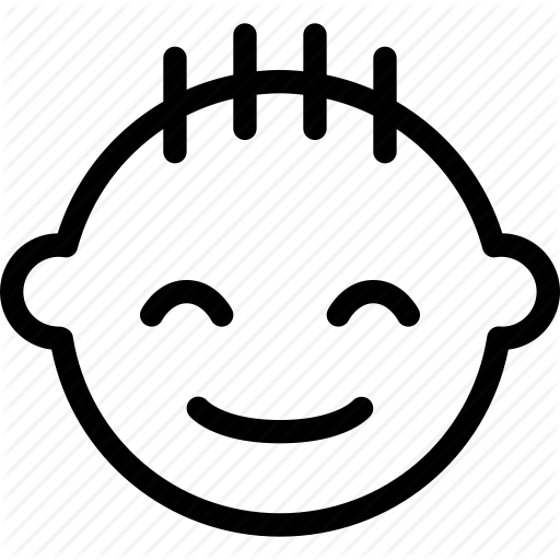 Baby, Child, Face, Happy, Smile Icon