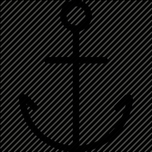 Anchor, Harbor, Marina, Port Icon