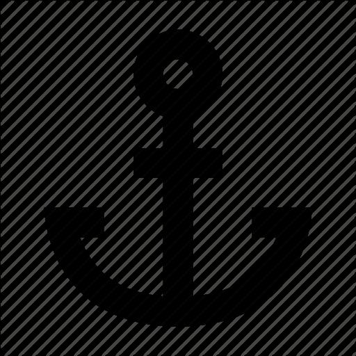 Anchor, Harbor, Ocean, Ship Icon
