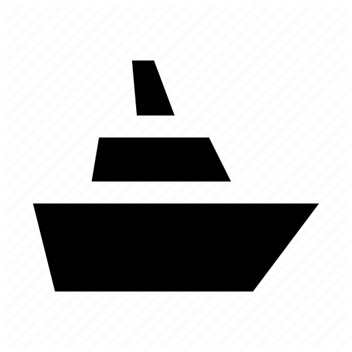 Cruise, Harbor, Port, Ship, Travel Icon