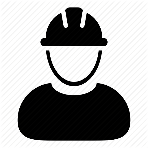 Builder, Construction, Engineer, Hard Hat, User, Worker Icon