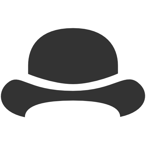 Bowler Hat Icon Download Free Icons