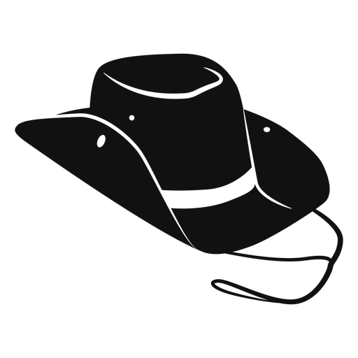 Cowboy Hat Flat Icon