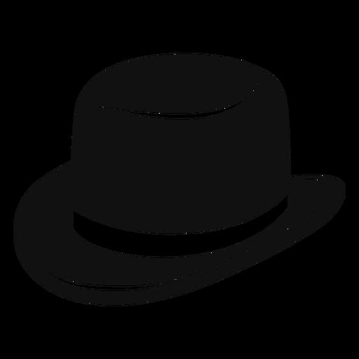 Derby Hat Flat Icon