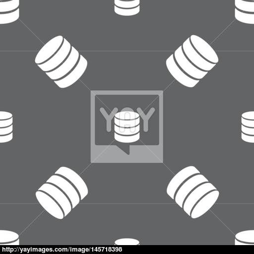 Hard Disk And Database Sign Icon Flash Drive Stick Symbol