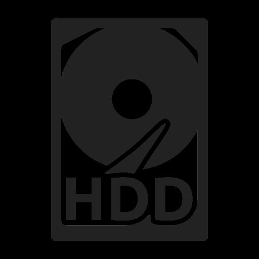 Storage, Hard, Disk Icon