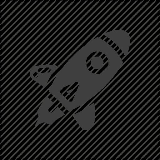 Missile, Plane, Rocket, Transportation Icon