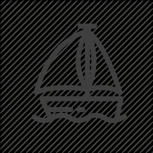 Boat, Car, Ship, Transport, Transportation, Yacht Icon