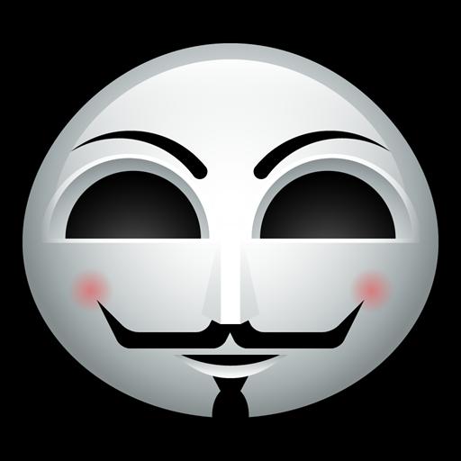 Man, Guy, Mask, Halloween, Fawkes, Activist, Vendetta Icon