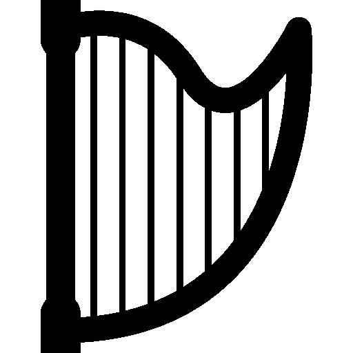 Music Harp Icons Free Download