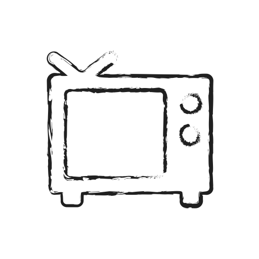 Drawing Tv Line Transparent Png Clipart Free Download