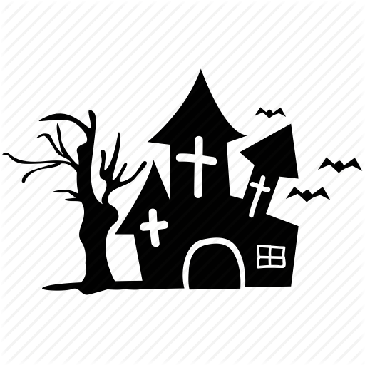 Icon Haunted Animated House